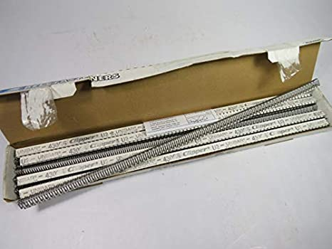 "Clipper U2C12 Belt Fasteners Box Of 12 New 12/""  Unibar Coated Steel 18370"