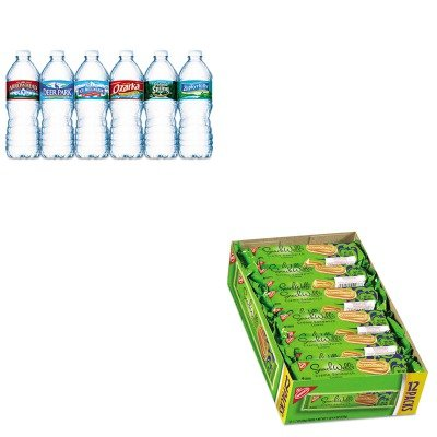 kitcdb00176nle101243-value-kit-nabisco-snackwells-cookies-cdb00176-and-nestle-bottled-spring-water-n