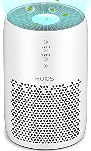 KOIOS Air Purifier for Home Large Room 861 sq ft, High CADR H13 True HEPA Air Filter Cleaner Odor Eliminators