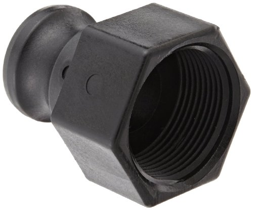 Banjo 100A Polypropylene Cam & Groove Fitting, 1 Male Adapter x NPT Female
