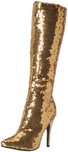 Ellie Shoes Women's 511-Tin Boot, Gold, 10 M US]()