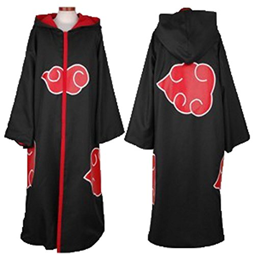 Japanese Anime Costumes Cosplay Costumes Naruto Akatsuki Ninja Uniform