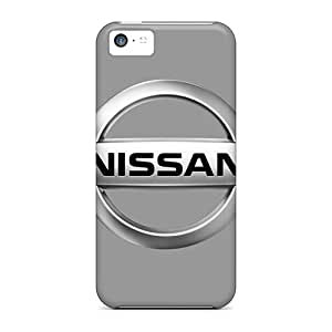 CassidyMunro Iphone 5c Protective Hard Cell-phone Cases Custom Vivid Nissan Logo Image [vZe13937rpzM]