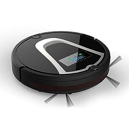 JJYJQR Robot Aspirador Aspirador De Robot De Barrido Automático Con Caja De Almacenamiento De Fregona Auto