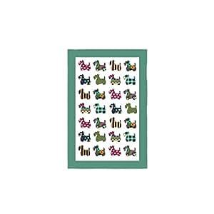 Ulster Weavers Scottie Pattern Linen Tea Towel