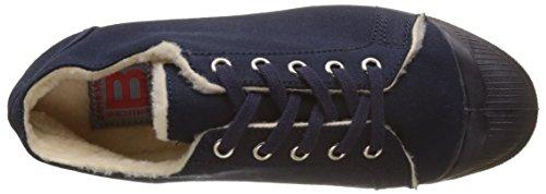 Azul Kelly Bensimon Fourree Tennis Mujer Marine Zapatillas para YwBAnRO