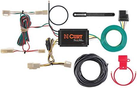 Amazon.com: CURT 55563 Vehicle-Side Custom 4-Pin Trailer Wiring Harness for  Select Lexus RX 330, Lexus RX 350: AutomotiveAmazon.com