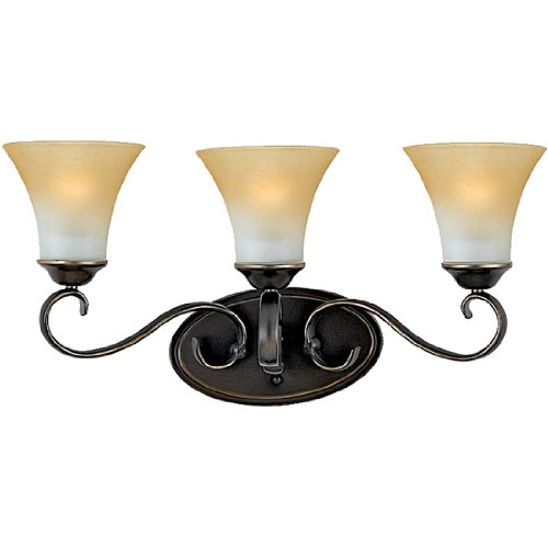 Quoizel DH8603PN 3-Light Duchess Bath Light in Palladian - Online Tiffany Store