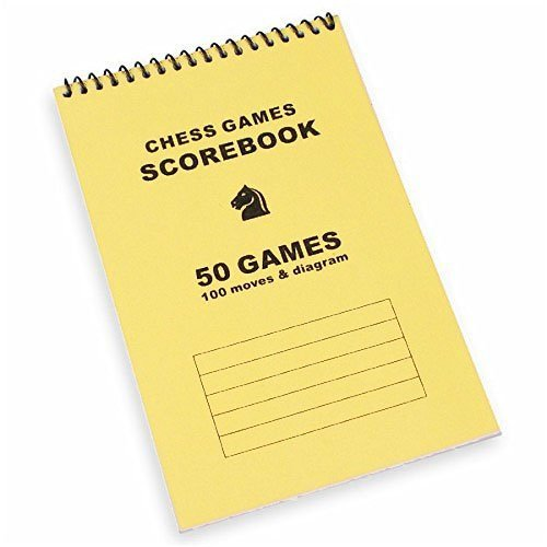 品質チェスScorebook – イエロー B01BLULNV2