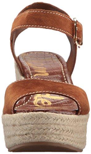 Women's Wedge Dimitree Edelman Sam Espadrille Luggage Sandal zPx5IUw