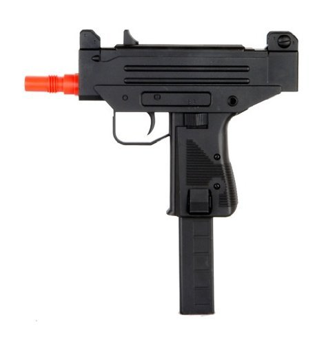 well mini uzi smg d93 electric airsoft gun rechargeable aeg full & semi automatic fps-255(Airsoft Gun) by Well