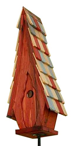 Heartwood 181A High Cotton Decorative Bird House (Redwood Birdhouse Cypress)