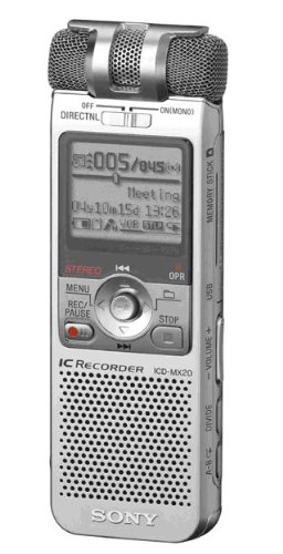 Pro Mp3 Stick Memory Duo Player - Sony ICD-MX20 Memory Stick Pro Duo Digital Voice Recorder