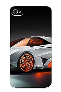 Fashionable Style Case Cover Skin For Iphone 4/4s- Car Lamborghini