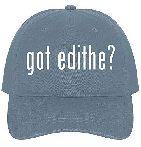 (The Town Butler got Edithe? - A Nice Comfortable Adjustable Dad Hat Cap, Light Blue)