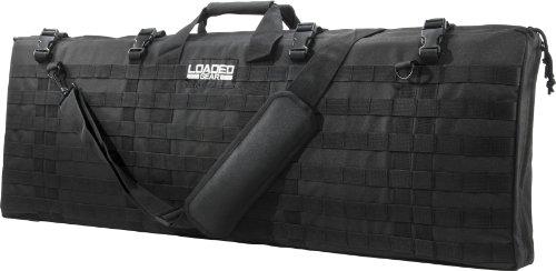 BARSKA Loaded Gear RX-300 Tactical Rifle Bag, Black