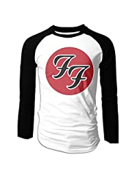 Men's Foo Fighters Band Logo Long Sleeve Raglan T Shirt