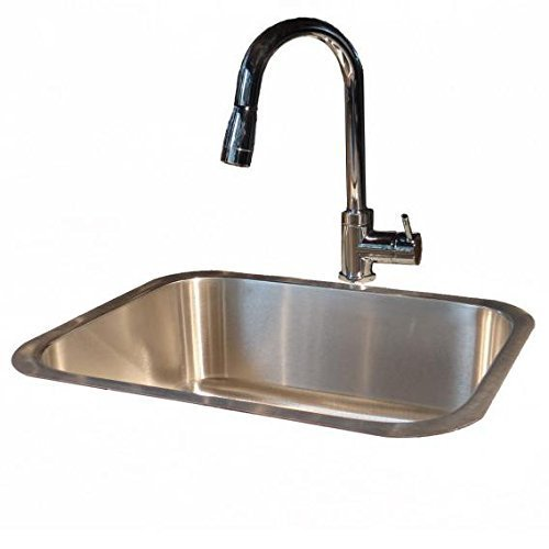 Under mount Sink and Faucet by Cunningham Gas Products