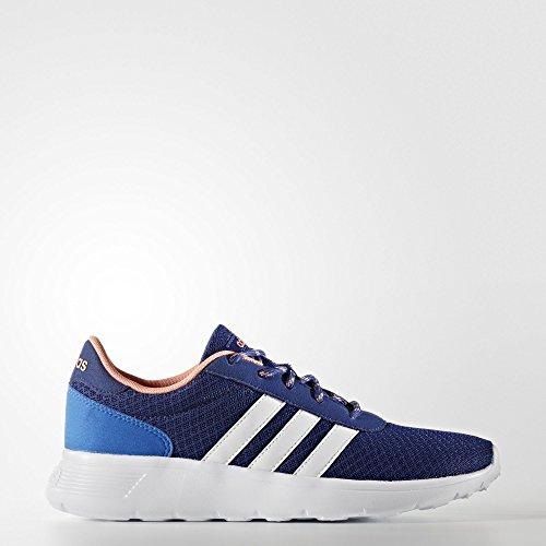 Adidas Lite De Course Avec Des Chaussures Fitness, Noir, Bleu Fonc