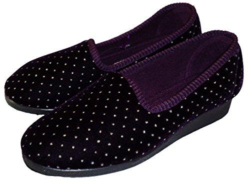 Zapatillas Para Mujer Mirak Slip On-shelly, Color: Violeta
