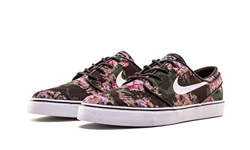 Nike Uomo Zoom Stefan Janoski Pr Tela Scarpa Da Skateboard Multicolore / Nero