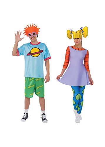 Wonder Clothing Rugrats Chuckie and Angelica Couple Costume