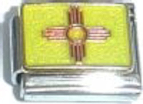 New Mexico State Flag Italian Charm