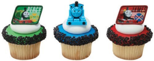 (24 ~ Thomas the Train & Friends Rings ~ Designer Cake/Cupcake Topper ~)