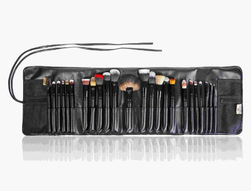 SHANY-Pro-Signature-Brush-Set-24-Pieces-Handmade-NaturalSynthetic-Bristle-with-Wooden-Handle-The-Masterpiece