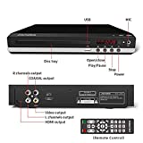 Sandoo DVD Player, Home DVD Player for TV, Region