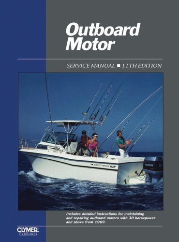 Outboard Motor Manual Service Volume (Outboard Motor Service Vol 2 Ed 11 (Outboard Motor Service Manual Vol 2) 11th edition by Penton Staff (2000) Paperback)