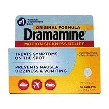 Dramamine 50mg 36ct (2pack) by Dramamine