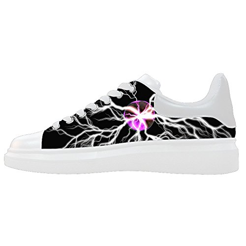 Women's Canvas Le Scarpe Scarpe Shoes Illuminazione Custom B5wEHx6q5