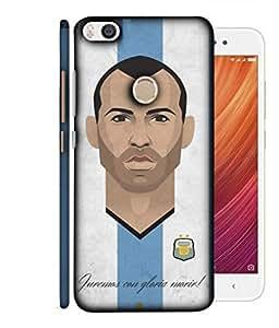 ColorKing Football Masherano Argentina 02 Multi Color shell case cover for Xiaomi Mi Max 2