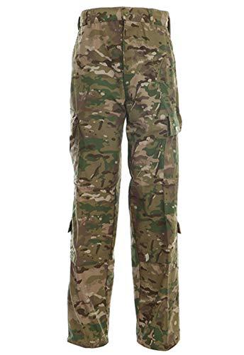 LANBAOSI Men's Uniform Pants Tactical Military Camo Hunting Combat Cargo Pants