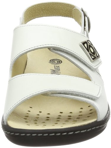 3 710637 Brinkmann Dr Slingback 3 Dr Brinkmann 710637 weiß Weiß Women's Féminin Slingback White blanc Blanc Blanc qgUc1