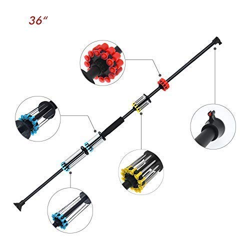 """WINGS 36"""" Sporting Blowgun .40c with 48 Darts with Tactical"""