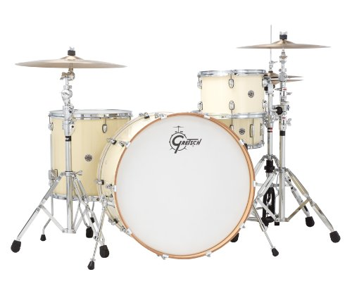 Gretsch-Drums-Catalina-Club-CT1-R444-WC-4-Piece-Drum-Shell-Pack-White-Chocolate