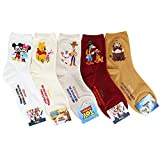 Socksense Cartoon Character Series Women's Original Crew Socks