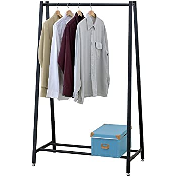 topeakmart 5ft strong clothes rail home. Black Bedroom Furniture Sets. Home Design Ideas