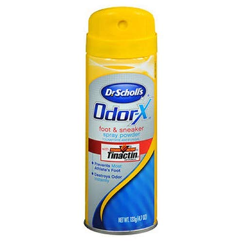 Dr. Scholl's Odor Destroyers Foot & Sneaker Spray Powder 4.70 oz (Pack of 4) ()