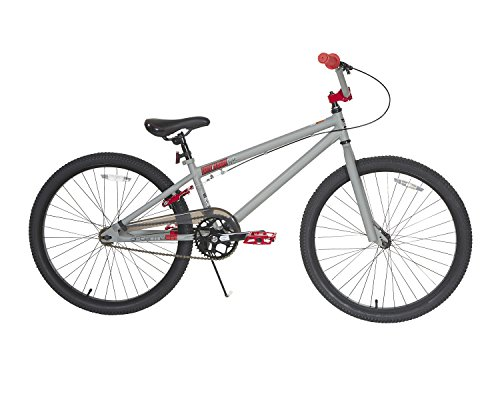 TONY HAWK Men's Dynacraft Aftermath Bike, Grey/Black/Red, 24""