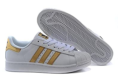 Kids Cheap Adidas Originals Superstar White