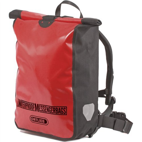 Ortlieb Messenger Bag Red - Black One Size by Ortlieb