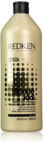 Redken Blonde Idol Sulfate-Free Shampoo for Unisex, 33.8 Ounce