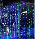 RGB Curtain Light with 8 Modes Control Decoration