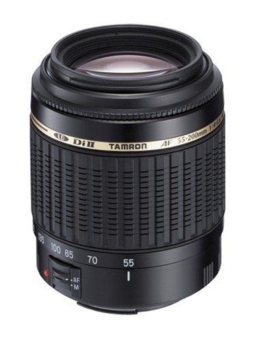 Tamron Auto Focus 55-200mm F/4.0-5.6 Di-II LD Macro Lens for Nikon Digital SLR Cameras (Model A15N)