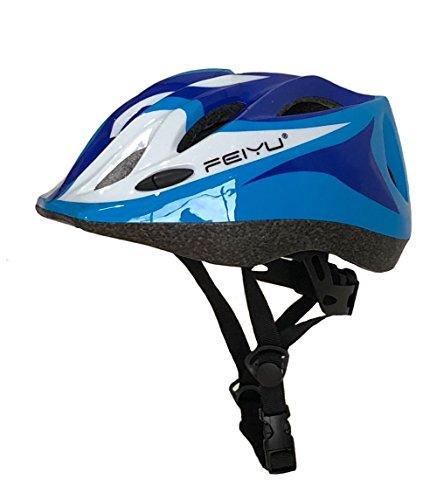 Cheap Seven Stones Kids MTB Road Mountain Bike Helmet Ultralight Safety Bicycle Helmet Children Cycling Multisport protective Helmet-blue