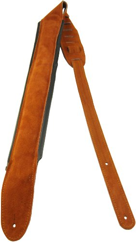 perris-leathers-dls825-200-25-inch-suede-guitar-strap-with-piped-pad