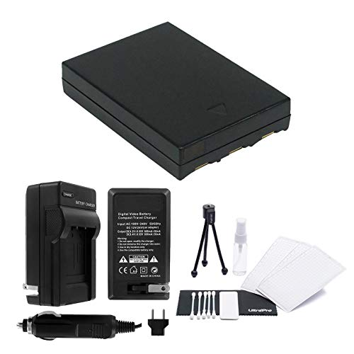 UltraPro NB-3L Replacement Battery with Rapid Travel Charger for Canon PowerShot SD550, SD500, SD110, SD100- UltraPro Bundle Includes: Camera Cleaning Kit, Screen Protector, Mini Travel Tripod